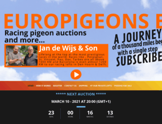 europigeons.nl screenshot