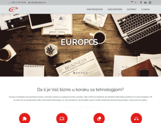 europos.co.rs screenshot