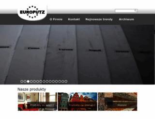 europutz.pl screenshot