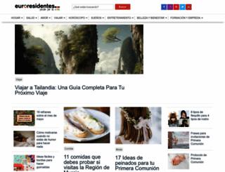 euroresidentes.com screenshot