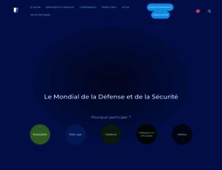 eurosatory.com screenshot