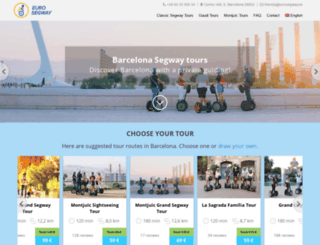 eurosegway.es screenshot