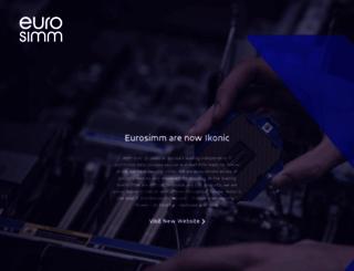 eurosimm.com screenshot