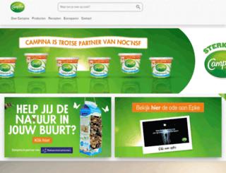 eurosparen.campina.nl screenshot