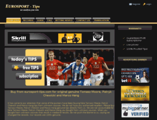 eurosport-tips.com screenshot