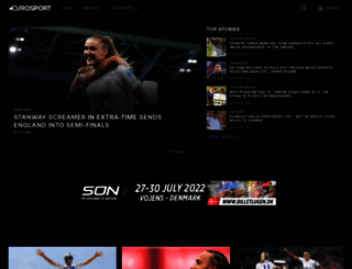 eurosport.co.uk screenshot