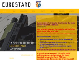 eurostand-lorraine.fr screenshot