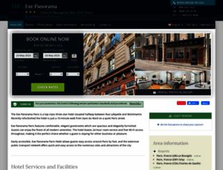 eurostars-panorama.hotel-rv.com screenshot
