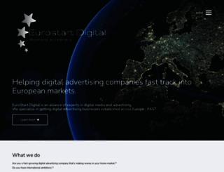 eurostartdigital.com screenshot