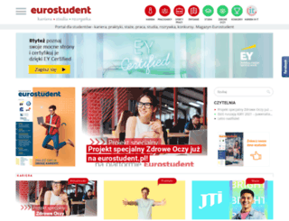 eurostudent.pl screenshot