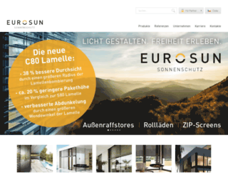 eurosun.cz screenshot