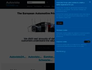 eurotax.com screenshot
