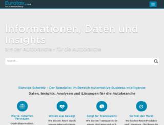 eurotaxpro.ch screenshot