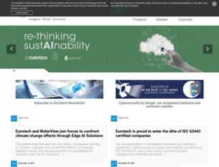 eurotech-inc.com screenshot