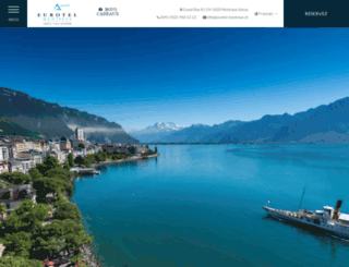 eurotel-montreux.ch screenshot
