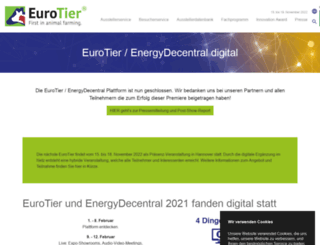eurotier.de screenshot
