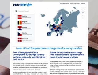 eurotransfer.co.uk screenshot