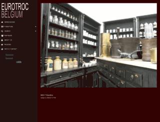 eurotrocbelgium.com screenshot