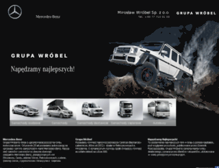 eurotruck.mercedes-benz.pl screenshot