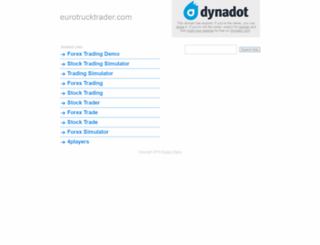 eurotrucktrader.com screenshot