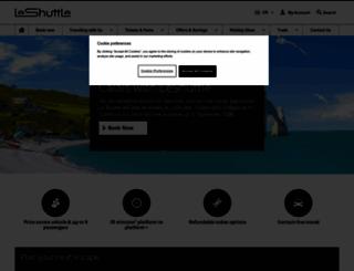 eurotunnel.com screenshot
