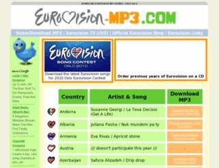 eurovision-mp3.com screenshot