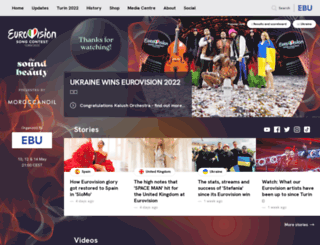 eurovision.tv screenshot