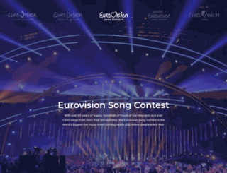 eurovisionfamily.tv screenshot