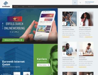 euroweb-stiftung.de screenshot