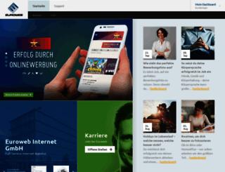 euroweb.de screenshot