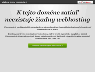 eurowebsite.sk screenshot