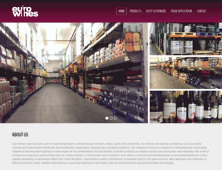 eurowines.elasticeyeclients.co.uk screenshot