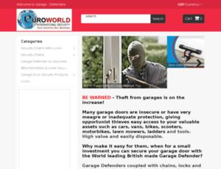 euroworld-international.co.uk screenshot