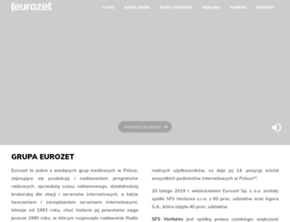 eurozet.pl screenshot
