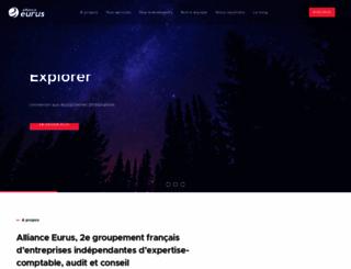 eurus.fr screenshot