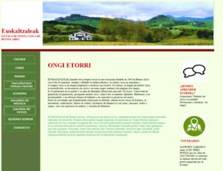 euskaltzaleak.org.ar screenshot
