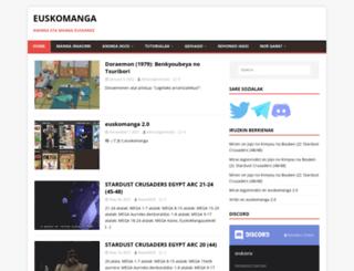 euskomanga.com screenshot
