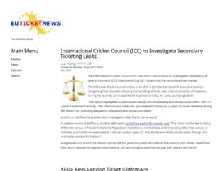 euticketnews.com screenshot