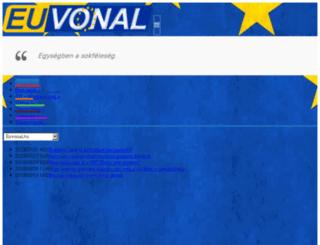 euvonal.hu screenshot