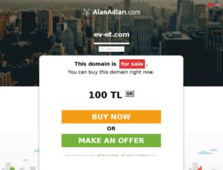 ev-et.com screenshot