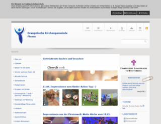 ev-kirche-fluorn.de screenshot