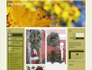 eva.napady.net screenshot