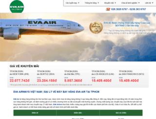evaairwaysvn.com screenshot