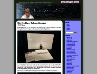 evageeks.org screenshot