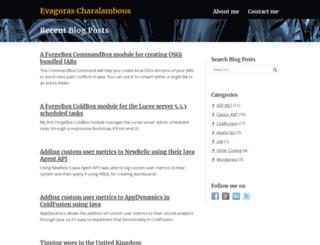 evagoras.com screenshot