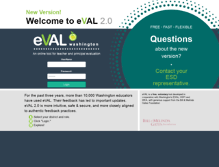 eval-wa.org screenshot