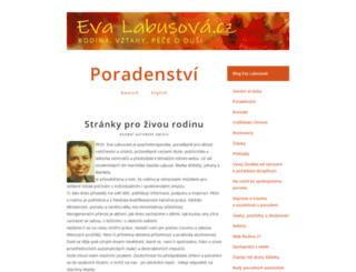 evalabusova.cz screenshot