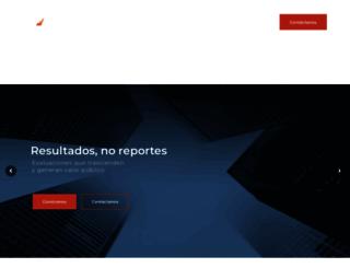 evaluare.mx screenshot
