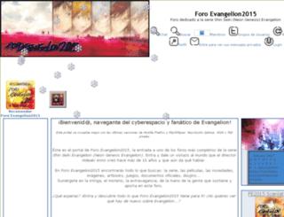 evangelion2015.creatuforo.com screenshot