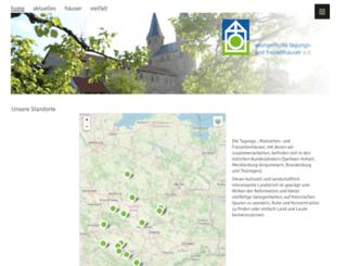 evangelische-freizeithaeuser.de screenshot